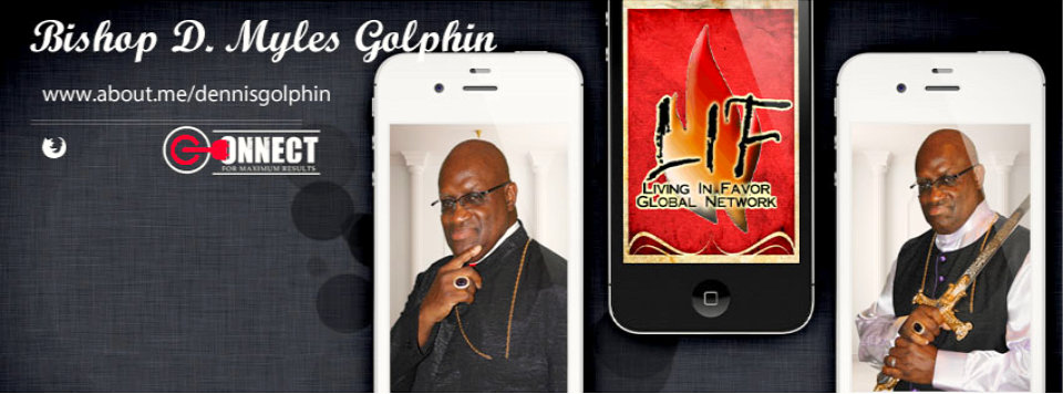 Iphones with the face of Dr. Dennis M. Golphin
