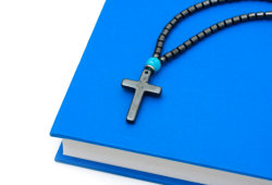 book and cross