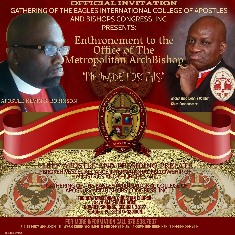 Enthronement invite #3