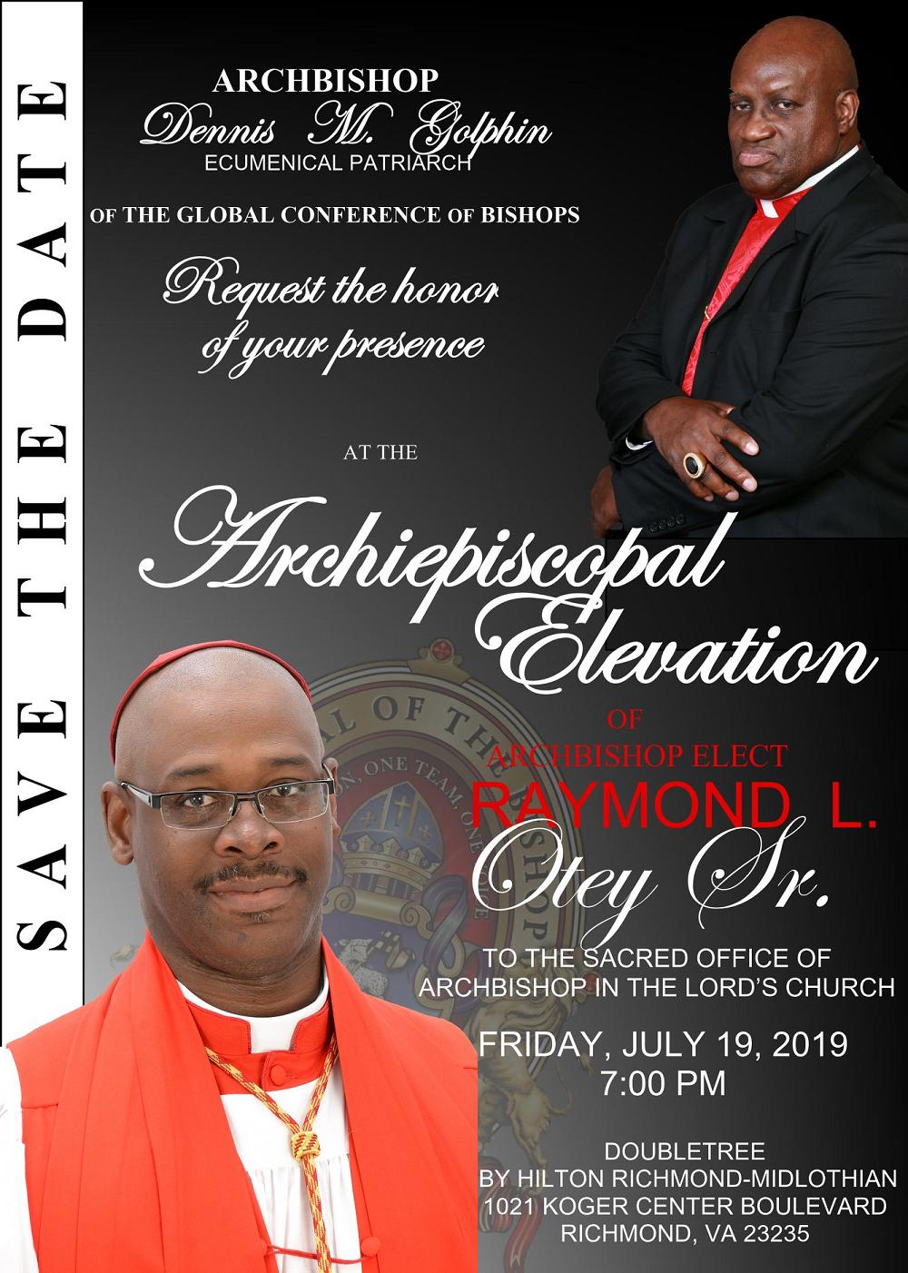 Archiepiscopal Elevation